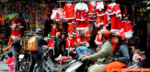 Spontaneity in Travel – or Why We Are Spending Christmas in Hanoi