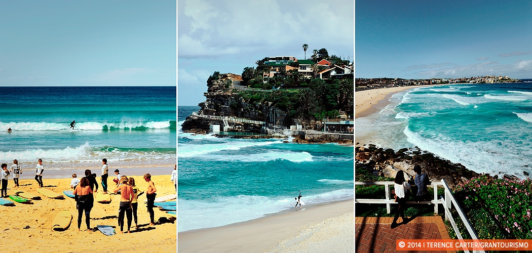 best beaches in Sydney - Manly, Bronte, Bondi, Sydney, Australia. Copyright 2014 Terence Carter / Grantourismo. All Rights Reserved.
