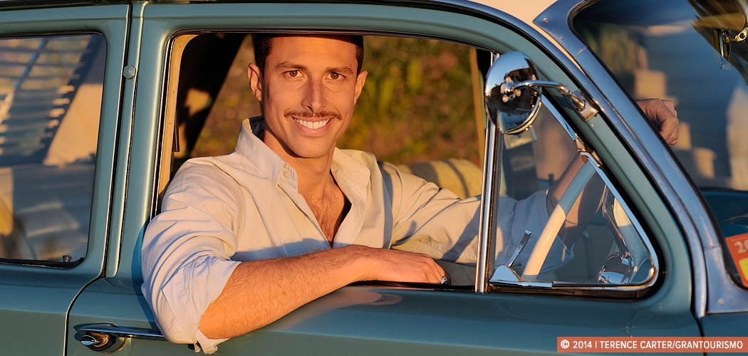 Richard Graham of My Sydney Detour in his 1964 EH Holden Premier. Copyright 2014 Terence Carter / Grantourismo. All Rights Reserved.