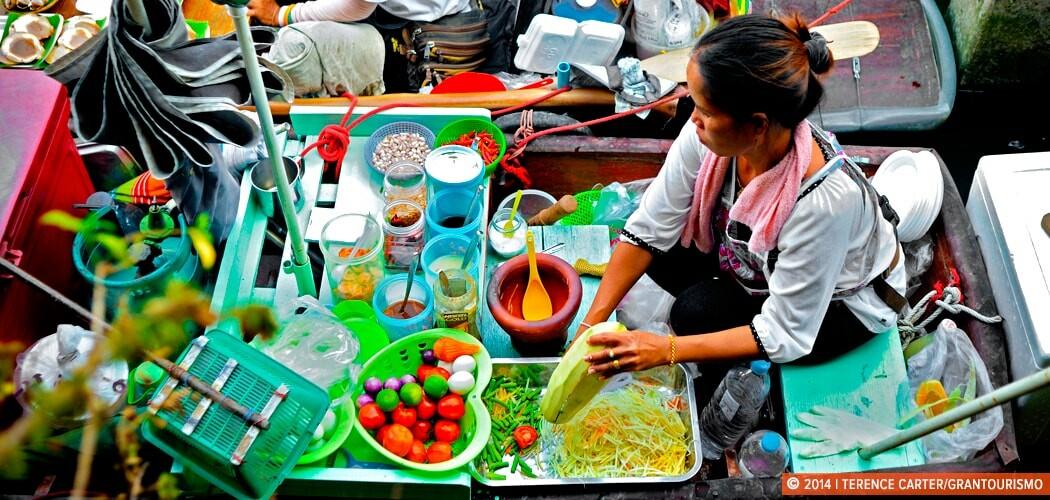 Floating Markets, Bangkok.