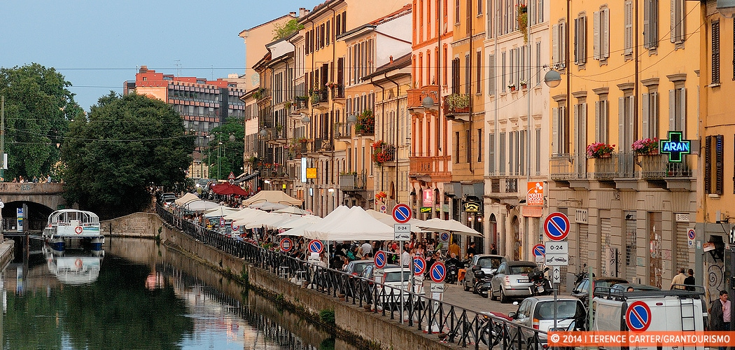Navigli, Milan, Italy. Copyright 2014 Terence Carter / Grantourismo. All Rights Reserved.