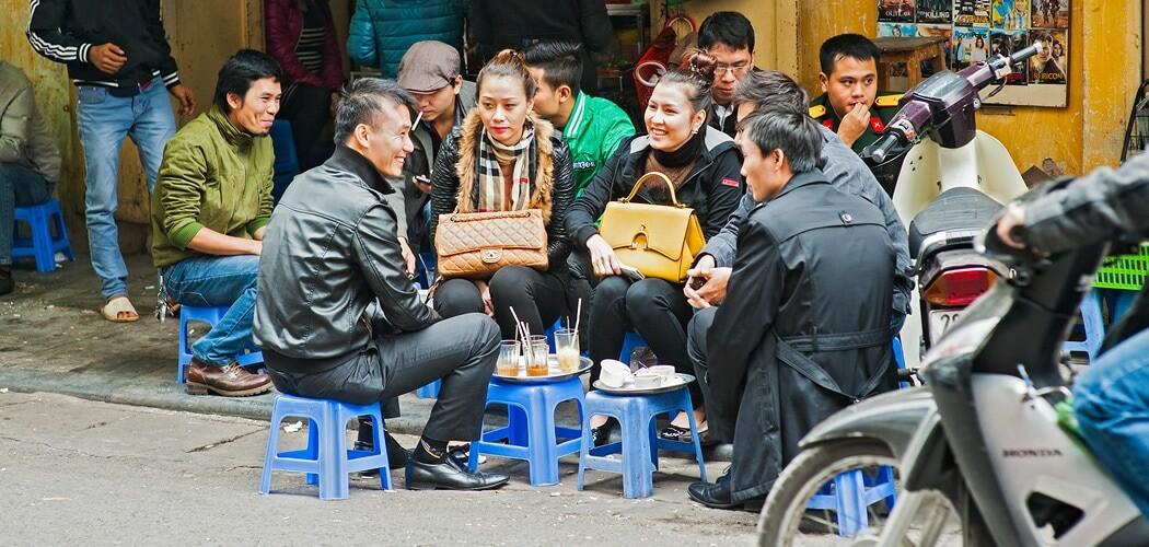 Hanoi old town, Hanoi, Vietnam