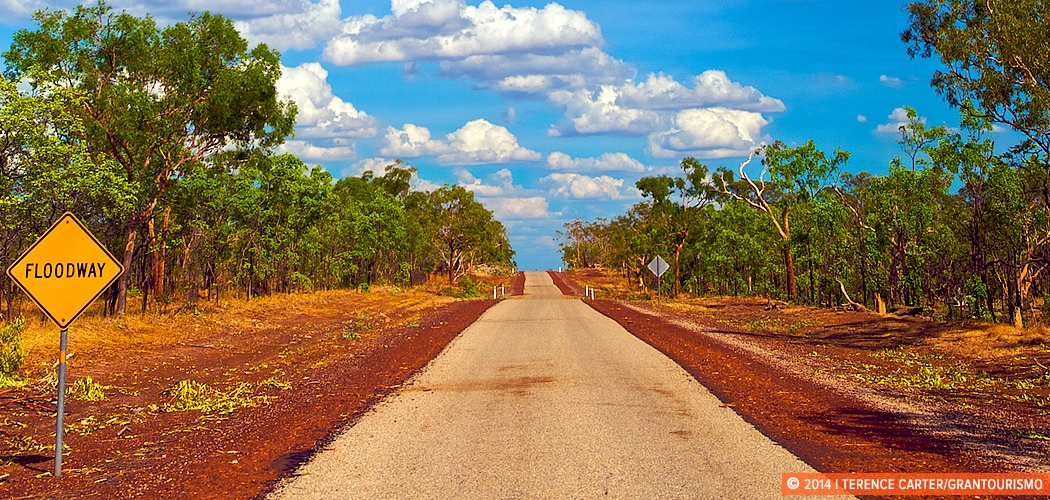 Tips for Road Trips in Australia for Travellers Driving the Outback Tracks. Outback Road, Northern Territory, Australia. Copyright 2014 Terence Carter / Grantourismo. All Rights Reserved. Tips for road trips in Australia.