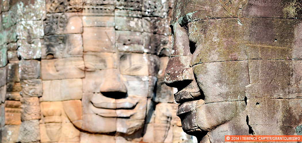 Bayon, Angkor Wat, Siem Reap, Cambodia. Copyright 2014 Terence Carter / Grantourismo. All Rights Reserved.