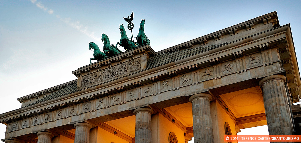 Brandenburg Gate, Berlin, Germany. Copyright 2014 Terence Carter / Grantourismo. All Rights Reserved.