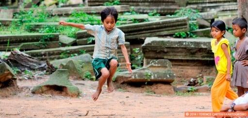 Monday Memories: Local Children at Beng Mealea