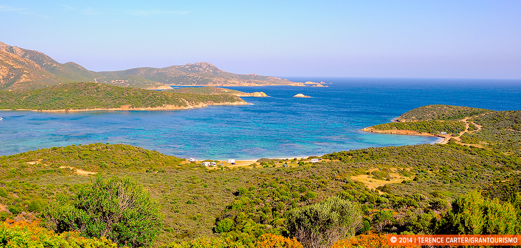 The coastline of Sardinia, Italy. Copyright 2014 Terence Carter / Grantourismo. All Rights Reserved.