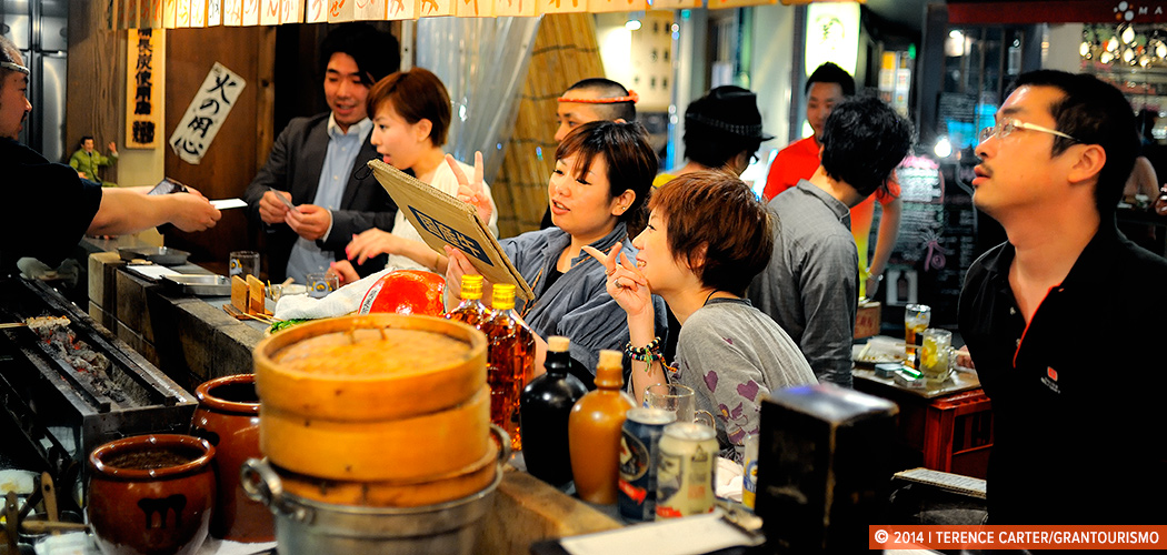 Japan Reborn Bar, Tokyo, Japan. Copyright 2014 Terence Carter / Grantourismo. All Rights Reserved.