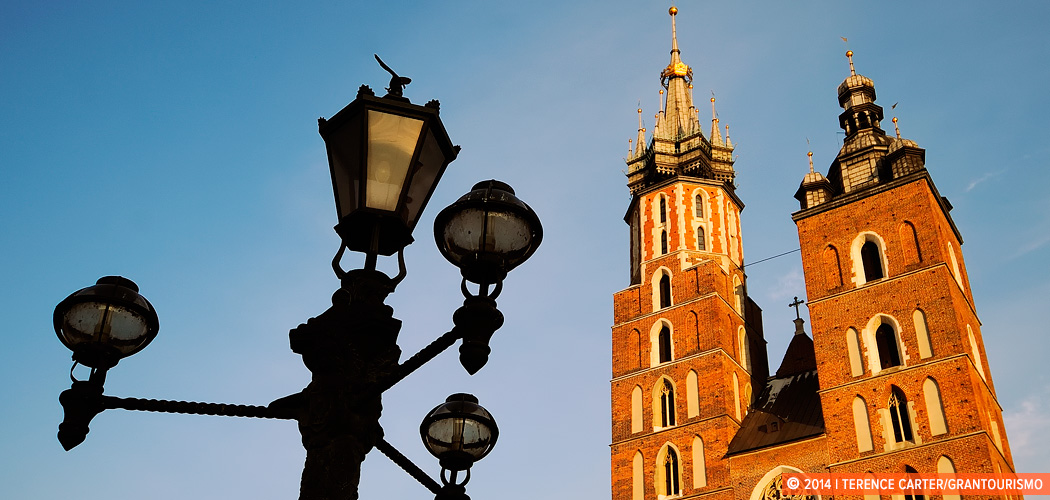 Main Square, Krakow, Poland. Copyright 2014 Terence Carter / Grantourismo. All Rights Reserved.