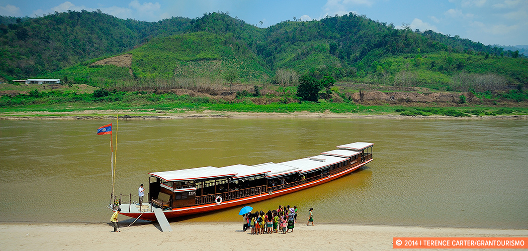 Mekong River, Laos. Copyright 2014 Terence Carter / Grantourismo. All Rights Reserved.