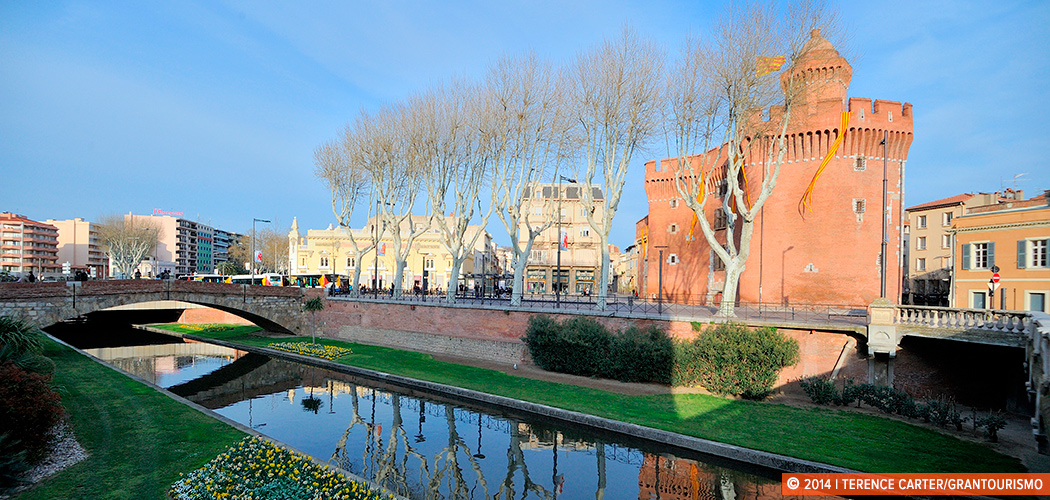 Perpignan, France. Copyright 2014 Terence Carter / Grantourismo. All Rights Reserved.