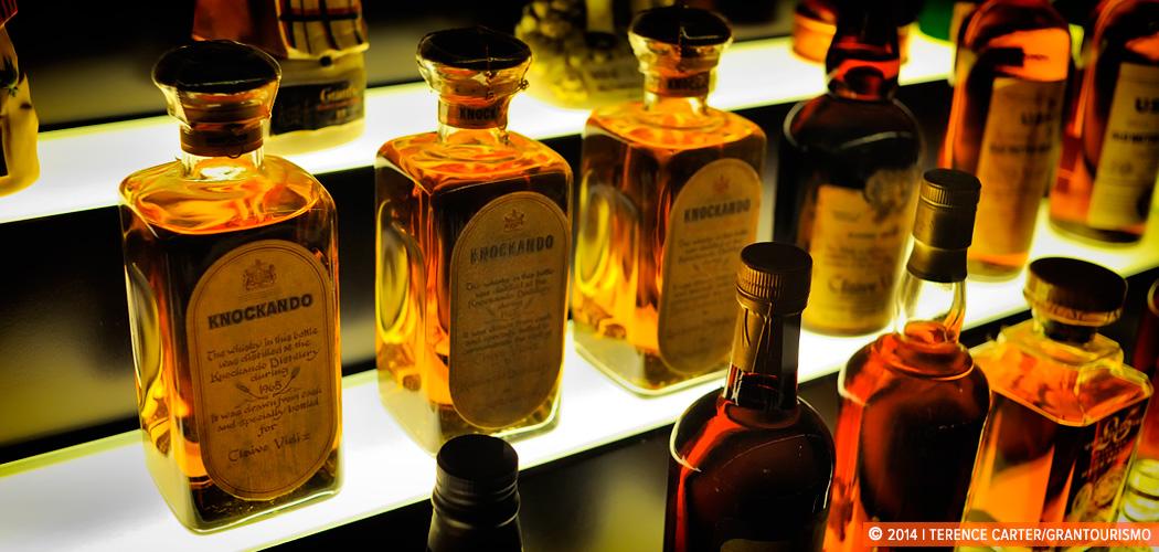 Single Malt Scotch Whisky. Edinburgh, Scotland. Copyright 2014 Terence Carter / Grantourismo. All Rights Reserved.