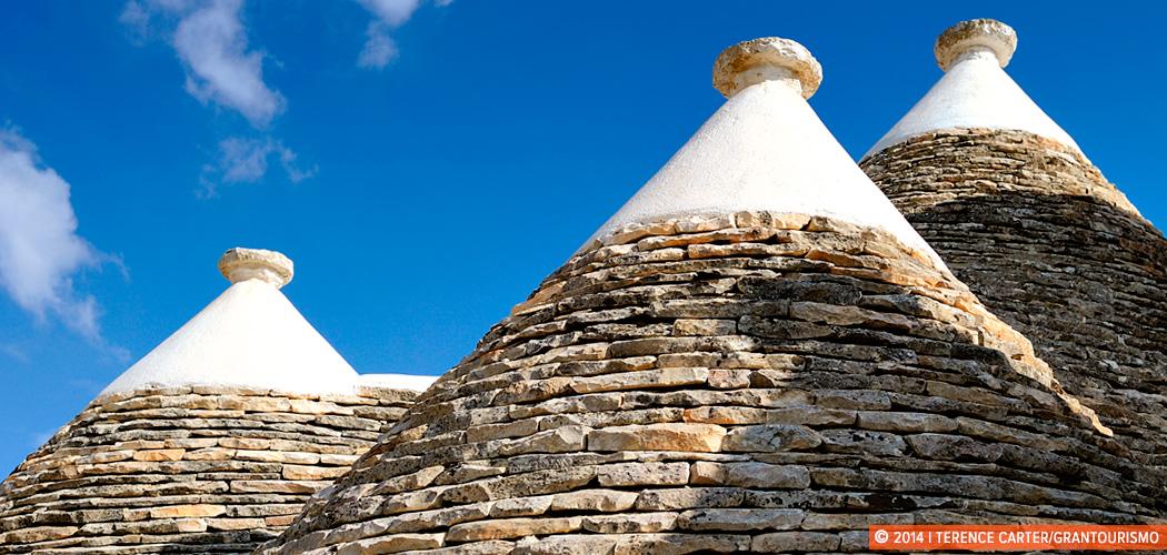 Trulli in Alberobello, Puglia, Italy. Copyright 2014 Terence Carter / Grantourismo. All Rights Reserved.