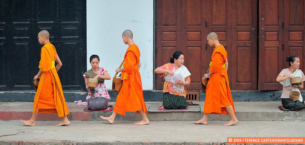 Luang Prabang, Laos. Copyright 2014 Terence Carter / Grantourismo. All Rights Reserved.