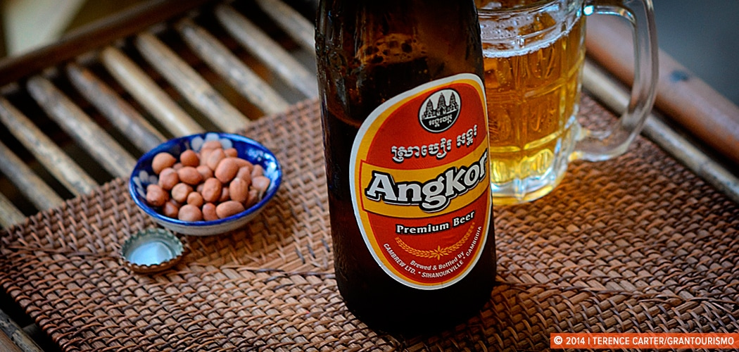 Angkor Beer, Siem Reap, Cambodia. Copyright 2014 Terence Carter / Grantourismo. All Rights Reserved.