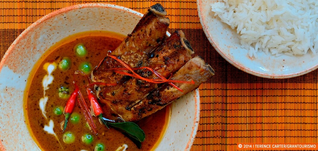 Thai Phanaeng Nua Beef Panang Curry, Siem Reap, Cambodia.
