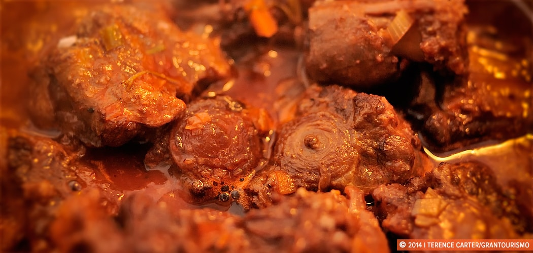 Rabo de Toro (Oxtail Stew Recipe) Recipe, Jerez, Spain. Copyright 2014 Terence Carter / Grantourismo. All Rights Reserved.