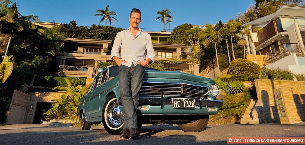 Richard Graham, My Sydney Detour owner, Sydney, Australia. Copyright 2014 Terence Carter / Grantourismo. All Rights Reserved.