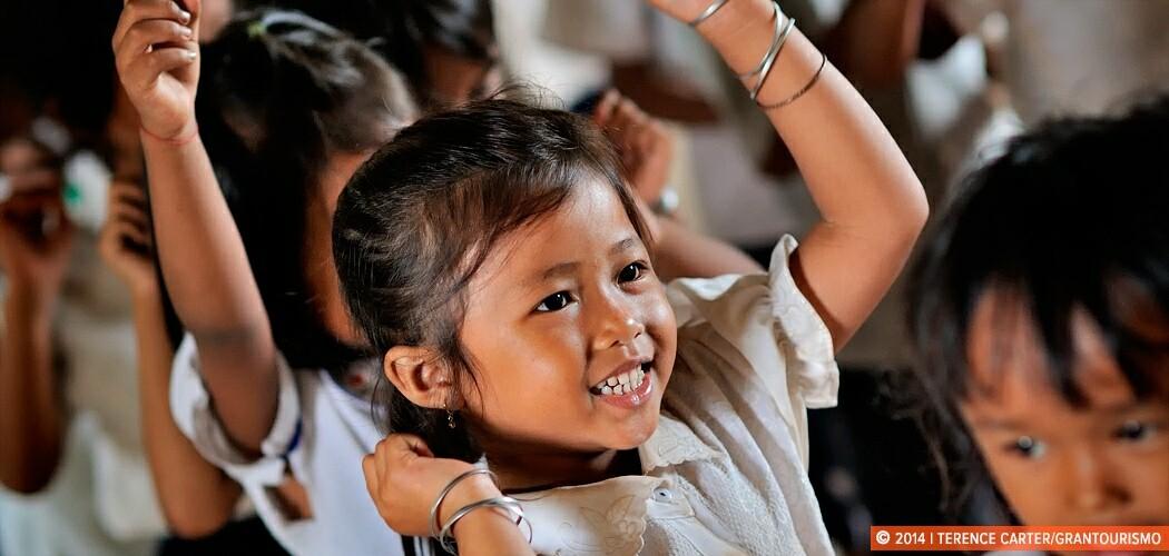 School, Siem Reap, Cambodia.
