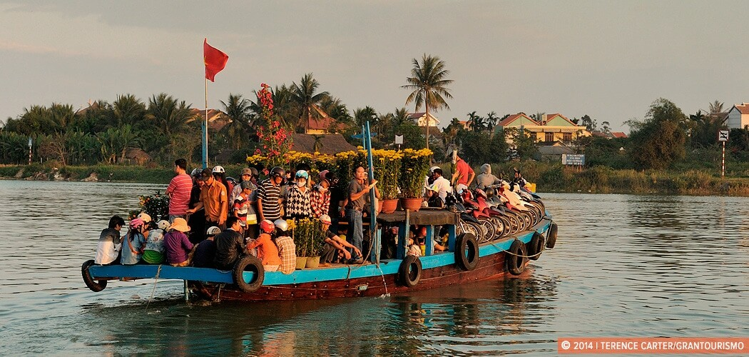Tet celebrations in Hoi An old town, Hanoi, Vietnam.