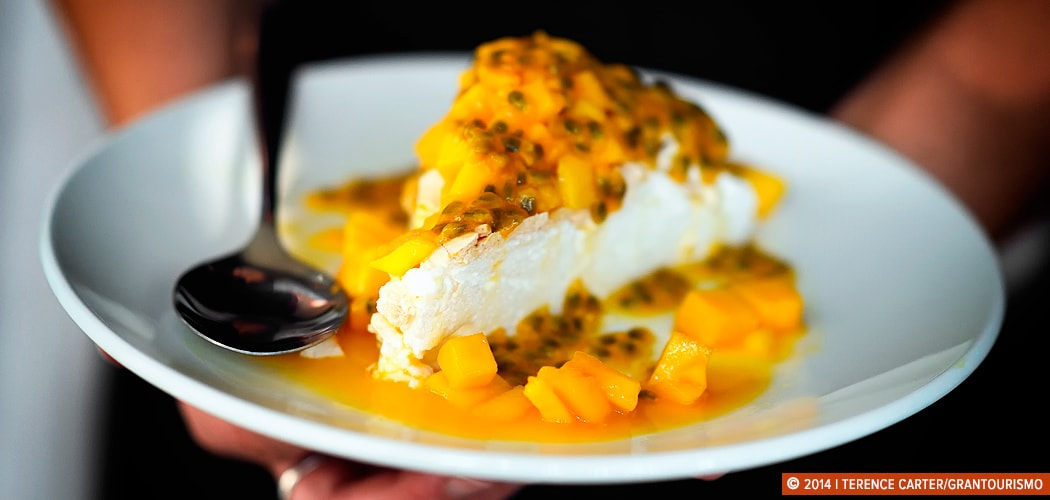 Australian Pavlova, Siem Reap, Cambodia. Copyright 2014 Terence Carter / Grantourismo. All Rights Reserved.