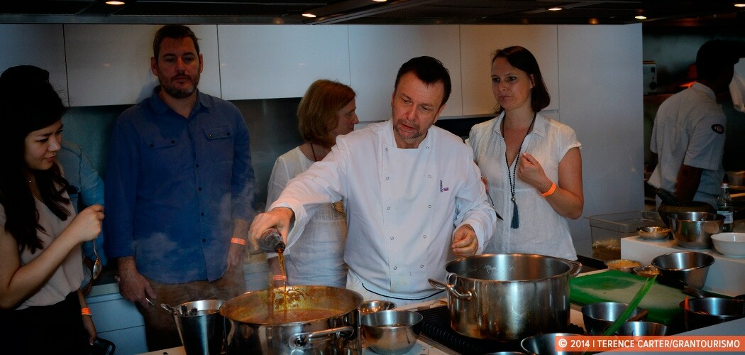 A Culinary Workshop with Chef David Thompson of Nahm. Singapore.
