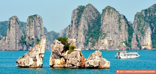 Halong Bay in Northern Vietnam, a Beguiling Seascape of Limestone Karsts