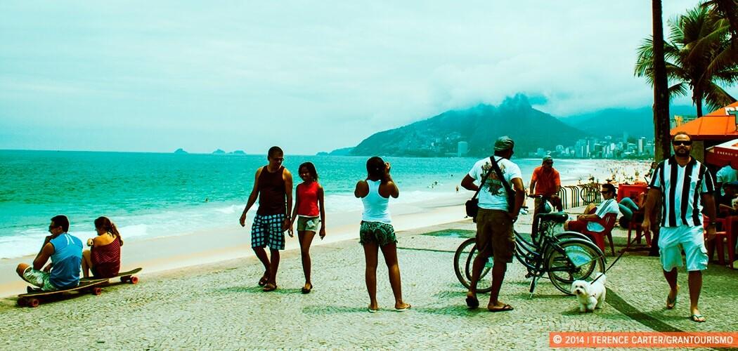 Ipanema Beach, Rio de Janeiro, Brazil. Copyright 2014 Terence Carter / Grantourismo. All Rights Reserved.