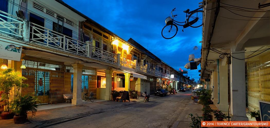 Arts and Architecture in Battambang, Cambodia.