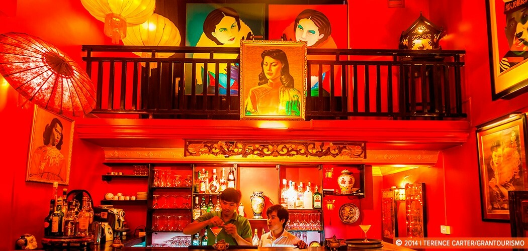 Miss Wong Bar, Siem Reap, Cambodia. Copyright 2014 Terence Carter / Grantourismo. All Rights Reserved.