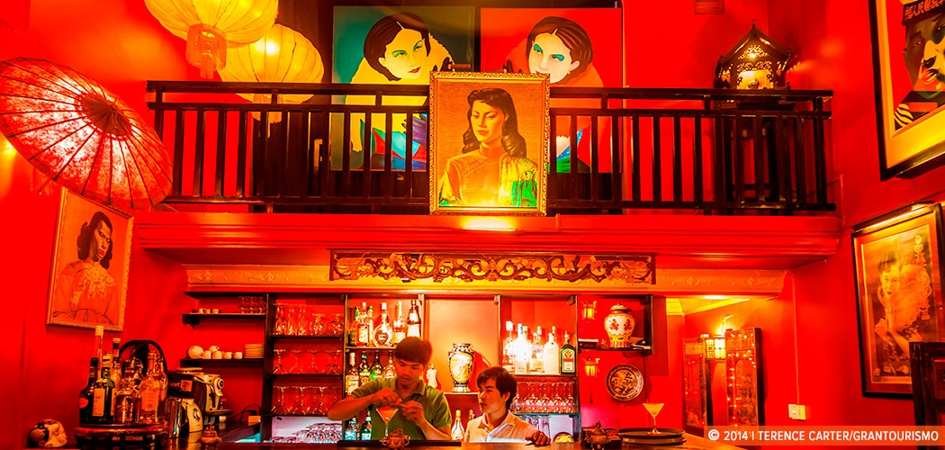 Best bars in Siem Reap. Miss Wong Bar, Siem Reap, Cambodia. Copyright 2014 Terence Carter / Grantourismo. All Rights Reserved. Siem Reap's Best Cafes and Bars