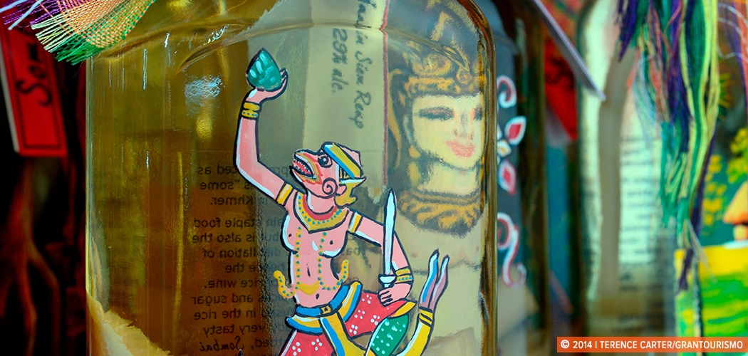 Sombai Infused Rice Spirit, Siem Reap, Cambodia. Copyright 2014 Terence Carter / Grantourismo. All Rights Reserved.