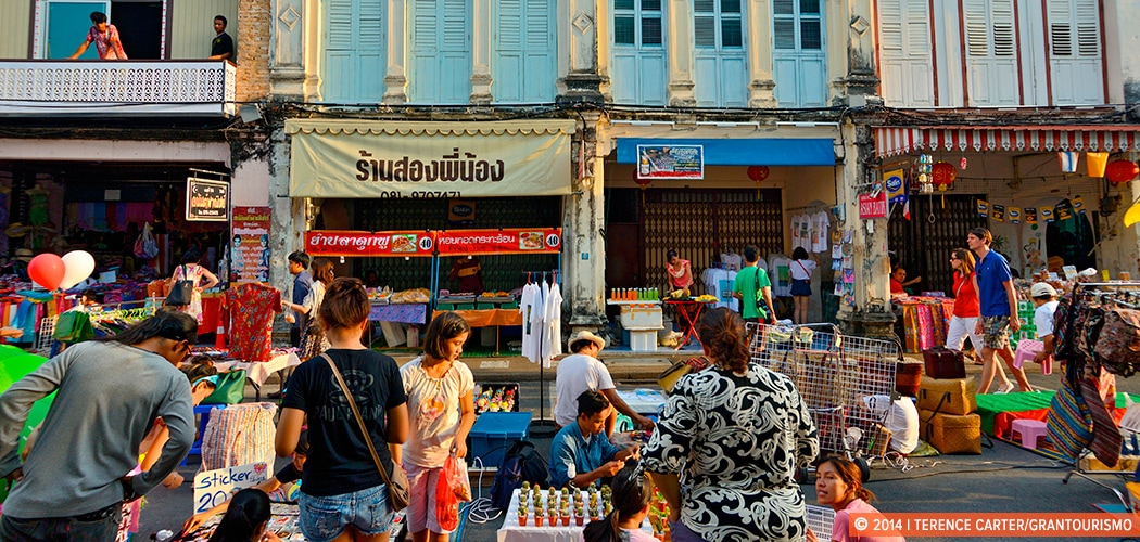 Phuket Town, Phuket, Thailand. Copyright 2014 Terence Carter / Grantourismo. All Rights Reserved.