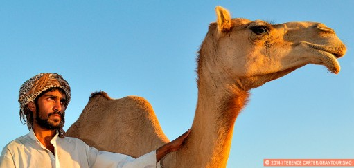 Monday Memories: The Dubai Camel Handler