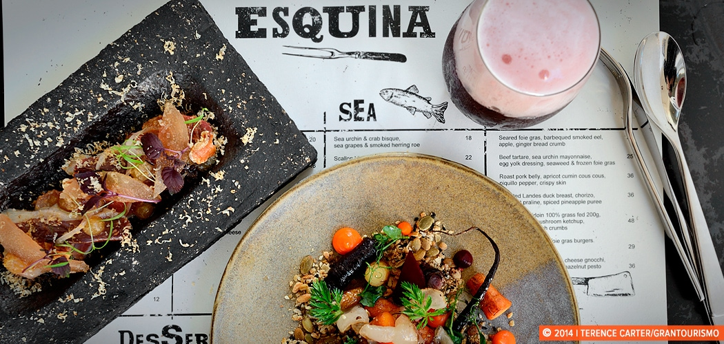 Esquina, Singapore. Copyright 2014 Terence Carter / Grantourismo. All Rights Reserved. The Hunt Singapore Guidebook.