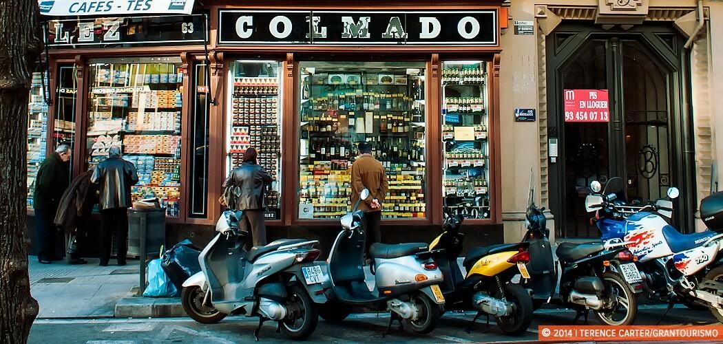La Rambla, Barcelona, Spain.