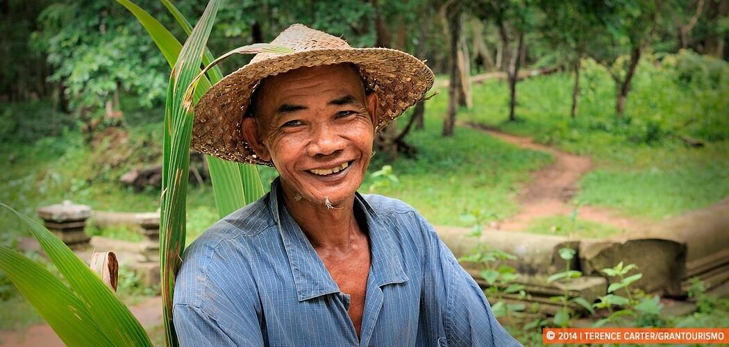 Local man at Beng Mealea, Siem Reap, Cambodia