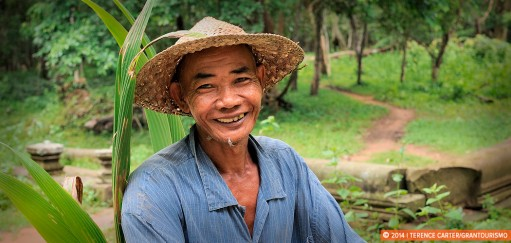 Monday Memories: Greeting the Locals at Beng Mealea