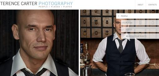 Take a Peek: Terence Carter Photography Portfolio Website