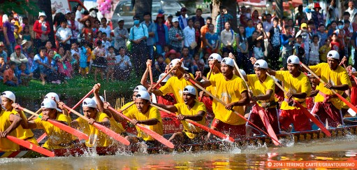 Scenes from the Siem Reap Water Festival