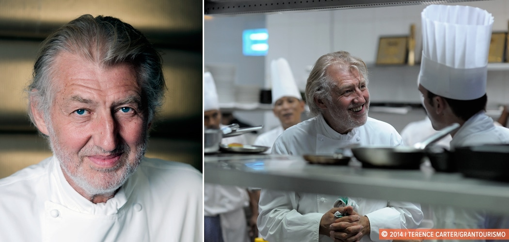 Behind the Scenes at Reflets Par Pierre Gagnaire in Dubai, Dubai, UAE. Copyright 2014 Terence Carter / Grantourismo. All Rights Reserved.