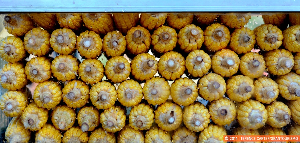 Steamed Corn, Siem Reap, Cambodia. Copyright 2014 Terence Carter ...