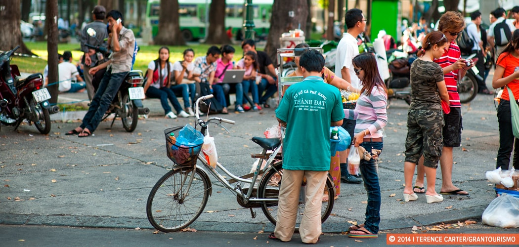 Would You Pay to Meet a Local When You Travel? Would You Rent a New Friend? Ho Chi Minh City (Saigon), Vietnam. Copyright 2014 Terence Carter / Grantourismo. All Rights Reserved. meet a local