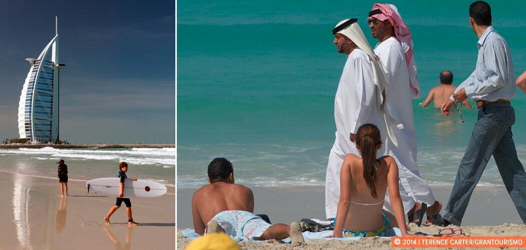 Um Suqeim Beach, Dubai, UAE.