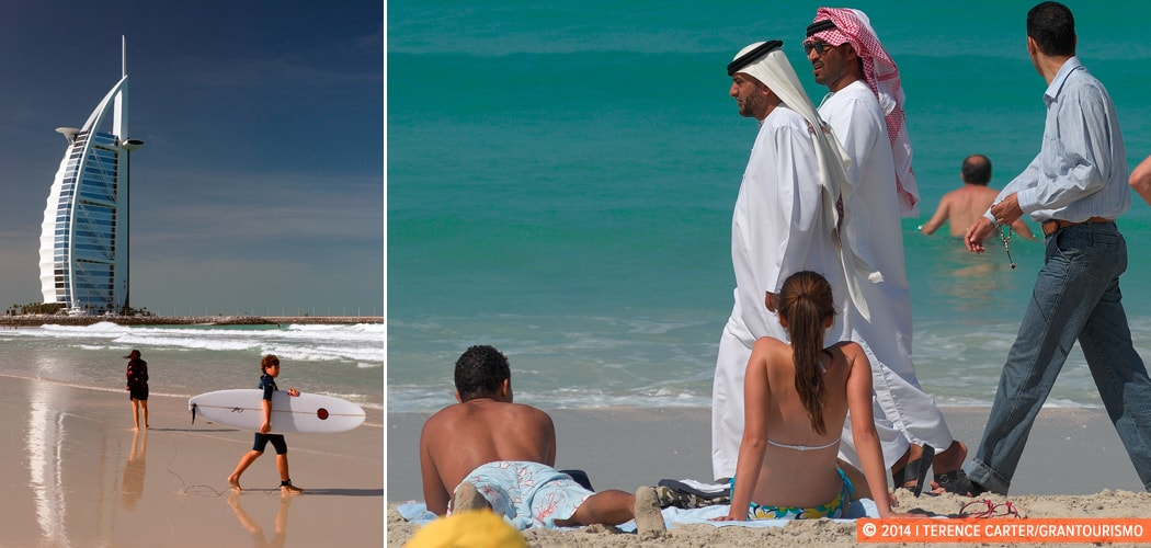 Um Suqeim Beach, Dubai, UAE. Copyright 2014 Terence Carter / Grantourismo. All Rights Reserved. Best beaches in Dubai