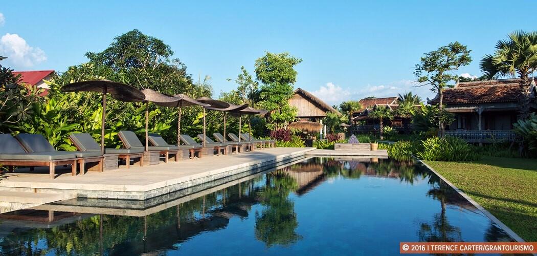 Sala Lodges, Siem Reap, Cambodia. Copyright 2015 Terence Carter