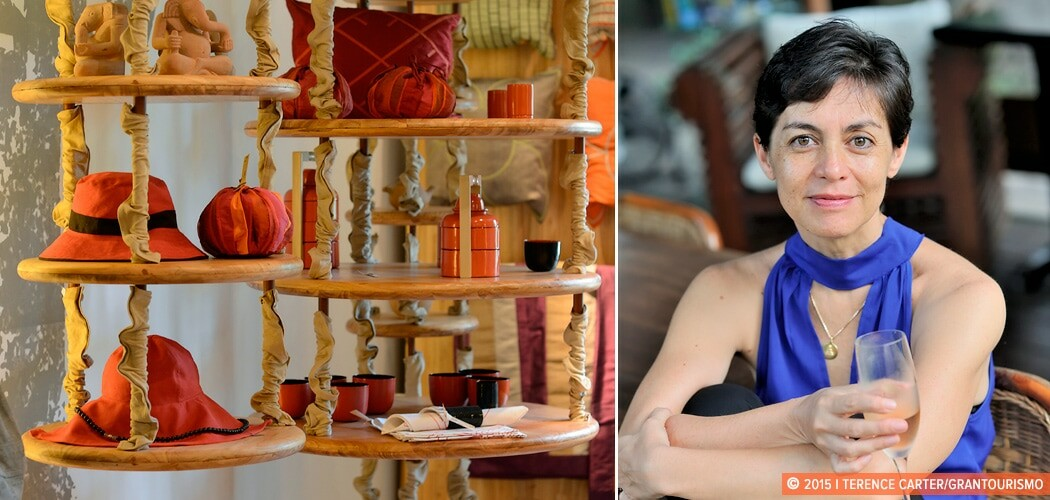 Nathalie Saphon Ridel of Maison Polanka and her shop, Galerie Ca