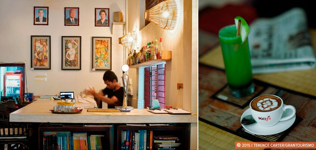 Bookleaf Cafe, Siem Reap, Cambodia. The best cafes in Siem Reap, Cambodia.