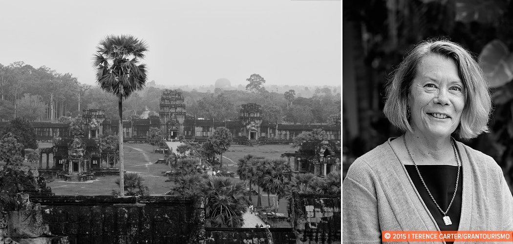 Elizabeth Becker, Siem Reap, Cambodia. Copyright 2015 Terence Carter / Grantourismo. All Rights Reserved.