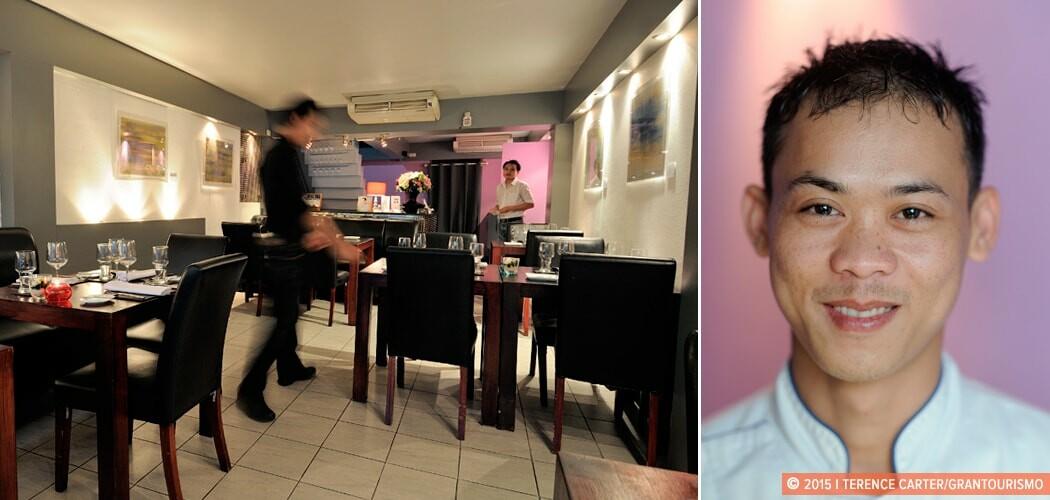 La Table de Tee, Chef Tee Kachorklin. Bangkok, Thailand.